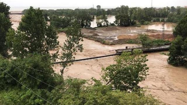 Ordu'da sel baskını: 8 köprü çöktü!