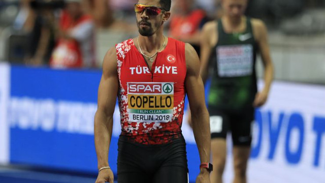 Milli atlet Escobar Avrupa ikincisi oldu