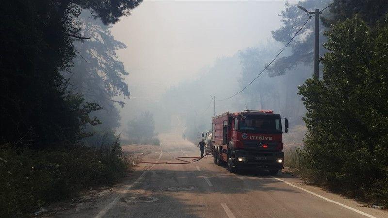 Fotoğraflarla Bursa'nın Mudanya ilçesinde çıkan yangında son durum - Page 1