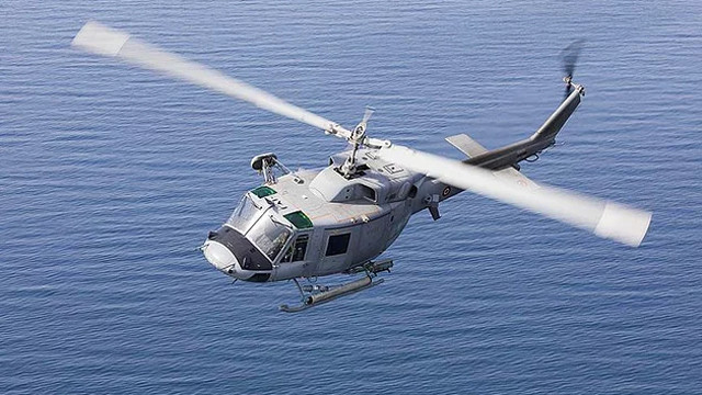 İstanbul Bostancı'da helikopter kazası