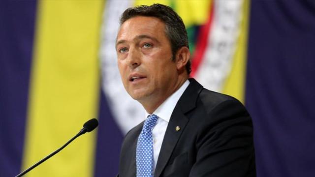 Fenerbahçe Başkanı Ali Koç'tan taraftara: Terbiyesizlik yapma