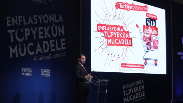 Az Önce! Bakan Albayrak enflasyonla mücadele programını açıkladı