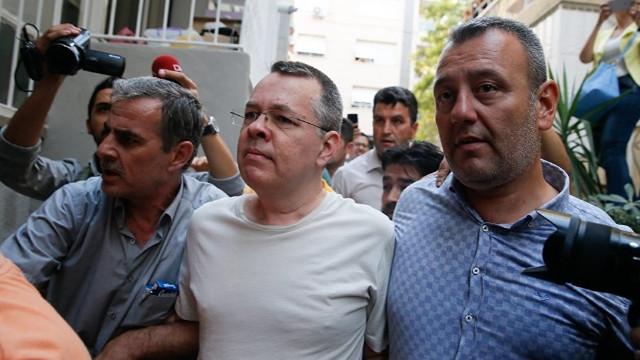 Brunson davası ertelendi mi? Brunson davası İzmir Adliyesi'nde mi yapılacak?