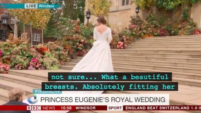 İngiliz kraliyet düğününde alt yazı gafı