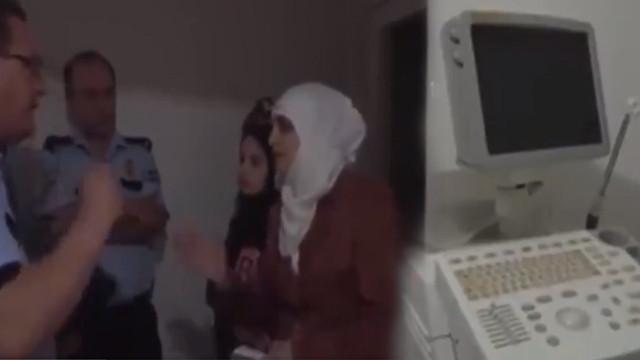 Bursa'da Suriyeli kadın evini hastaneye çevirdi