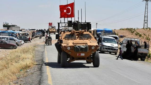 Türk Silahlı Kuvvetleri ve ABD ordusu, Münbiç'te ilk ortak devriye faaliyetine başladı