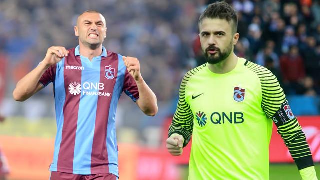 Trabzonspor Onur Kıvrak ve Burak Yılmaz'ı süresiz kadro dışı bıraktı