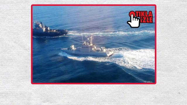Ukrayna ordusu: Rusya savaş gemimizi ateş açtı