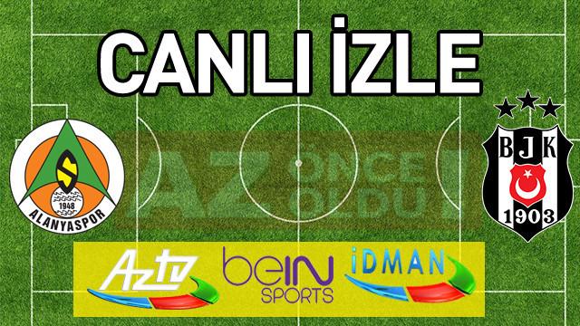 Alanyaspor Beşiktaş ŞİFRESİZ CANLI İZLE