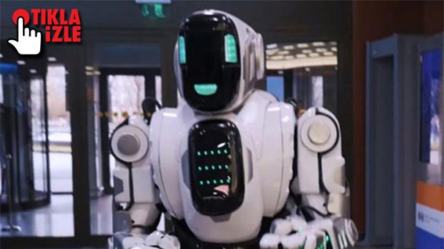 Dans eden robot insan çıktı!