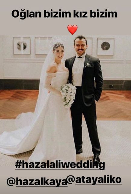 Hazal Kaya ile Ali Atay evlendi - Page 1