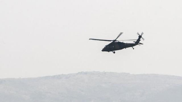Düşen helikopterle ilgili ilk görüntüler