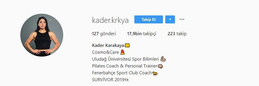 Kader Karakaya Instagram