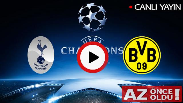 CANLI İZLE | Tottenham Dortmund maçı şifresiz canlı izle | Tottenham Dortmund CANLI İZLE