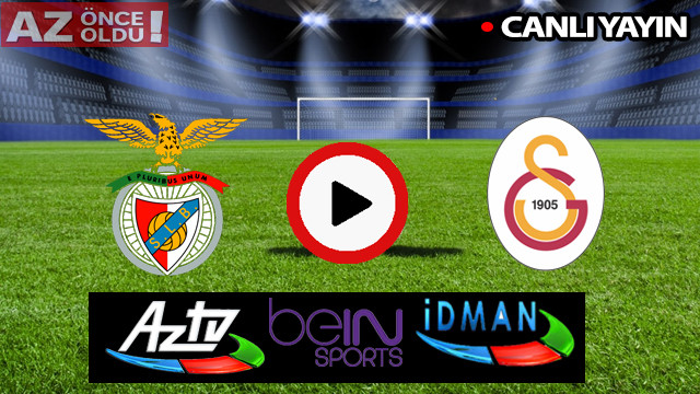 CANLI İZLE: Benfica Galatasaray maçı şifresiz canlı izle | Benfica GS maçı canlı skor kaç kaç?