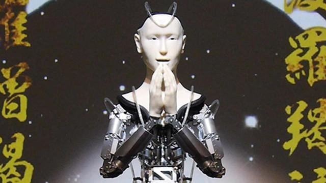 Robot keşiş Budizm öğretecek!