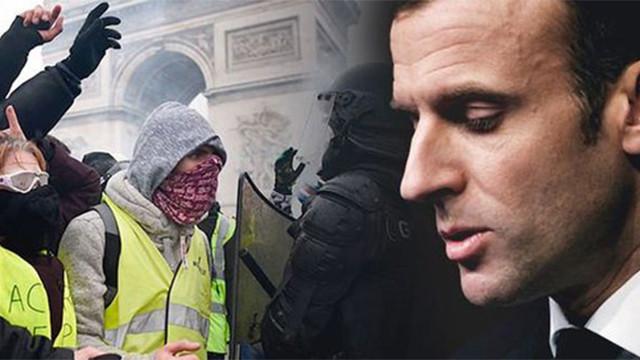 Macron'dan Sarı Yelekler özrü
