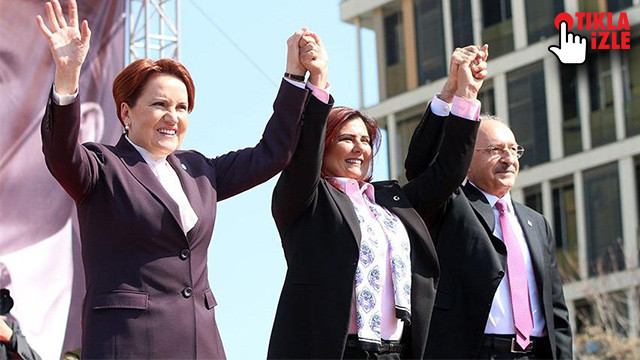 CHP ve İYİ Parti bu kez Aydın'da ortak miting düzenledi