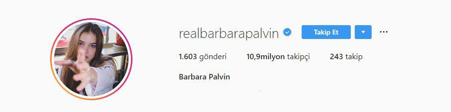 Barbara Palvin Instagram