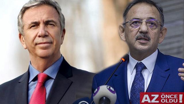 Mansur Yavaş-Mehmet Özhaseki karşı karşıya