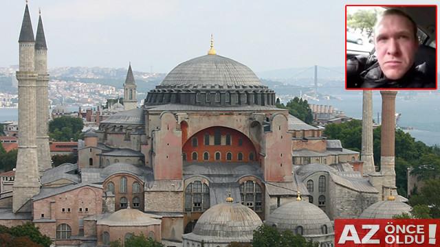 Saldırgan Manifestosunda İstanbul'u hedef aldı