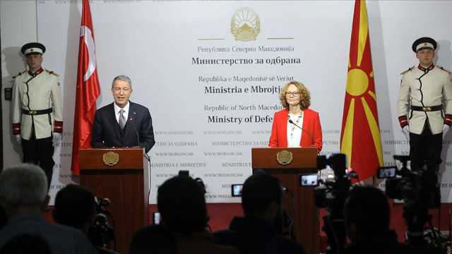 Hulusi Akar'dan Makedonya'ya FETÖ çağrısı