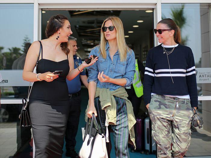 Süper model Bar Refaeli Antalya'ya geldi - Page 1