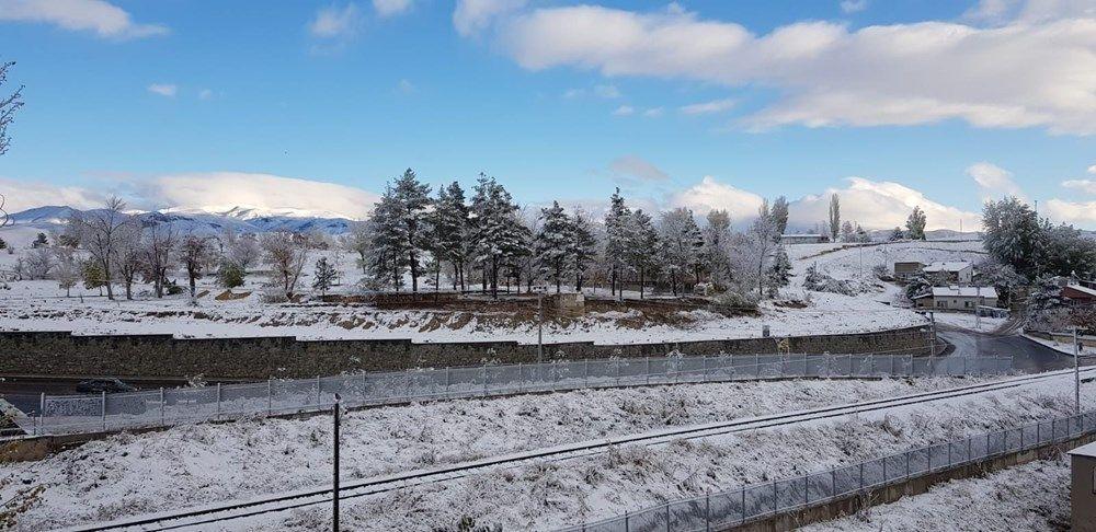 Erzurum'da halk güne kar ile uyandı - Sayfa 3