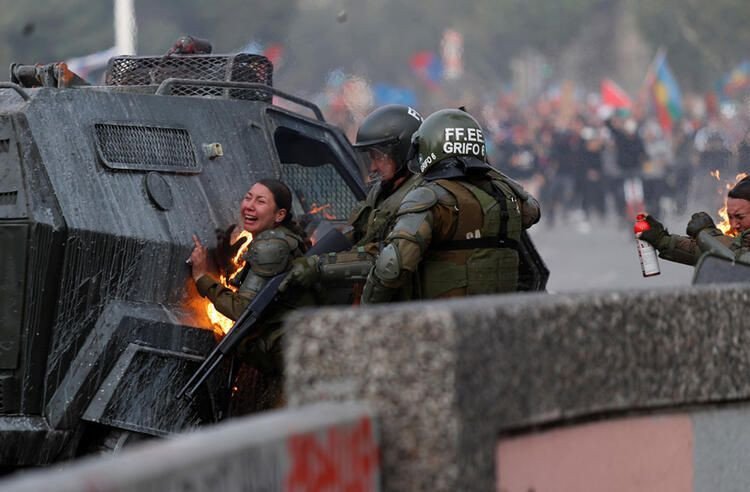 Şili'de protestolar devam ediyor - Sayfa 2