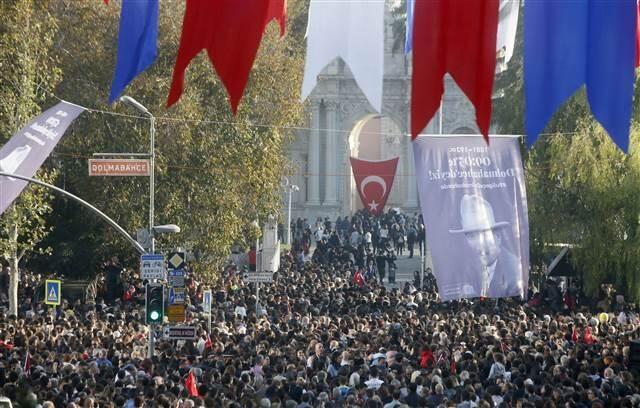 Mustafa Kemal Atatürk tüm yurtta yapılan törenlerle anıldı - Sayfa 4