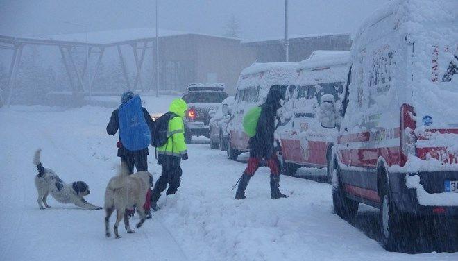 Kayıp iki dağcıyı arama çalışmaları devam ediyor - Sayfa 1