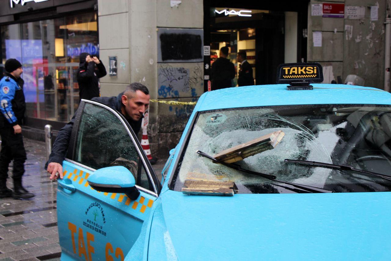 Binadan kopan beton taksiye saplandı - Sayfa 1