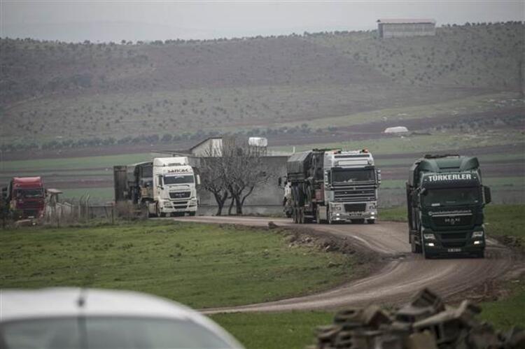 Suriye sınırına sevkiyat - Sayfa 1