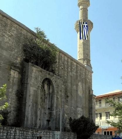 Dimetoka'daki tarihi caminin minaresi…  Yunan bayrağı astılar! - Sayfa 4