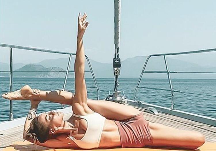 Zeynep Tokuş'tan akrobatik hareketler - Sayfa 1