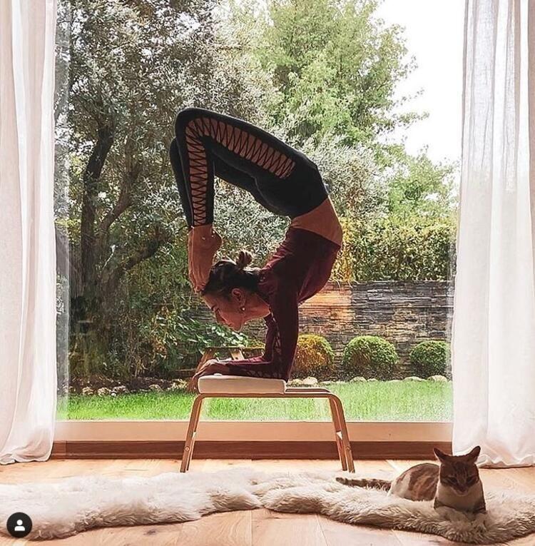 Zeynep Tokuş'tan akrobatik hareketler - Sayfa 3