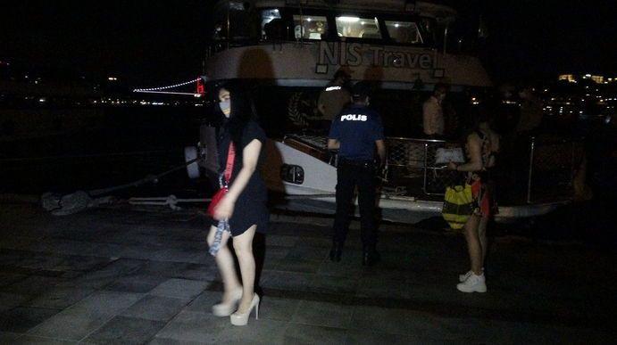 Bebek'te 150 kişilik yat partisine polis baskını - Sayfa 3
