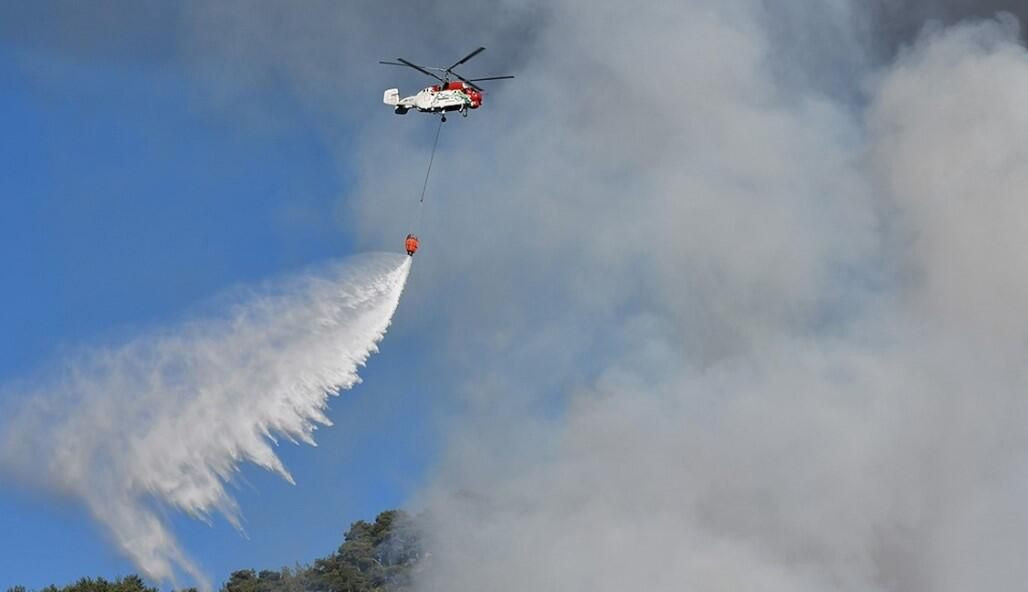 Orman yangınını söndürme çalışmaları sürüyor - Sayfa 2