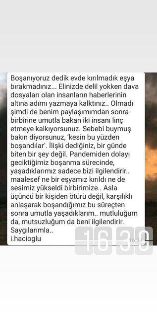 İsmail Hacıoğlu: Mutluluğum da, mutsuzluğum da beni ilgilendirir - Sayfa 2