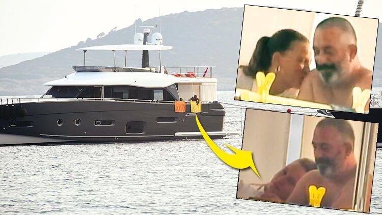 Cem Yılmaz ile Serenay Sarıkaya Bodrum'da tatilde - Sayfa 1