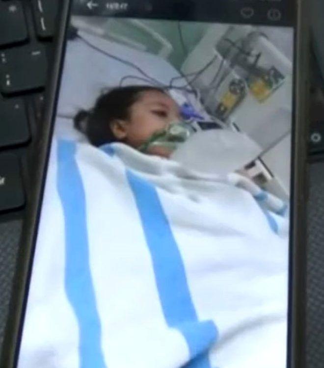 Organ yetmezliğinden ölen 12 yaşındaki kız, cenaze sırasında gözlerini açıp hareket etmeye başladı - Sayfa 1
