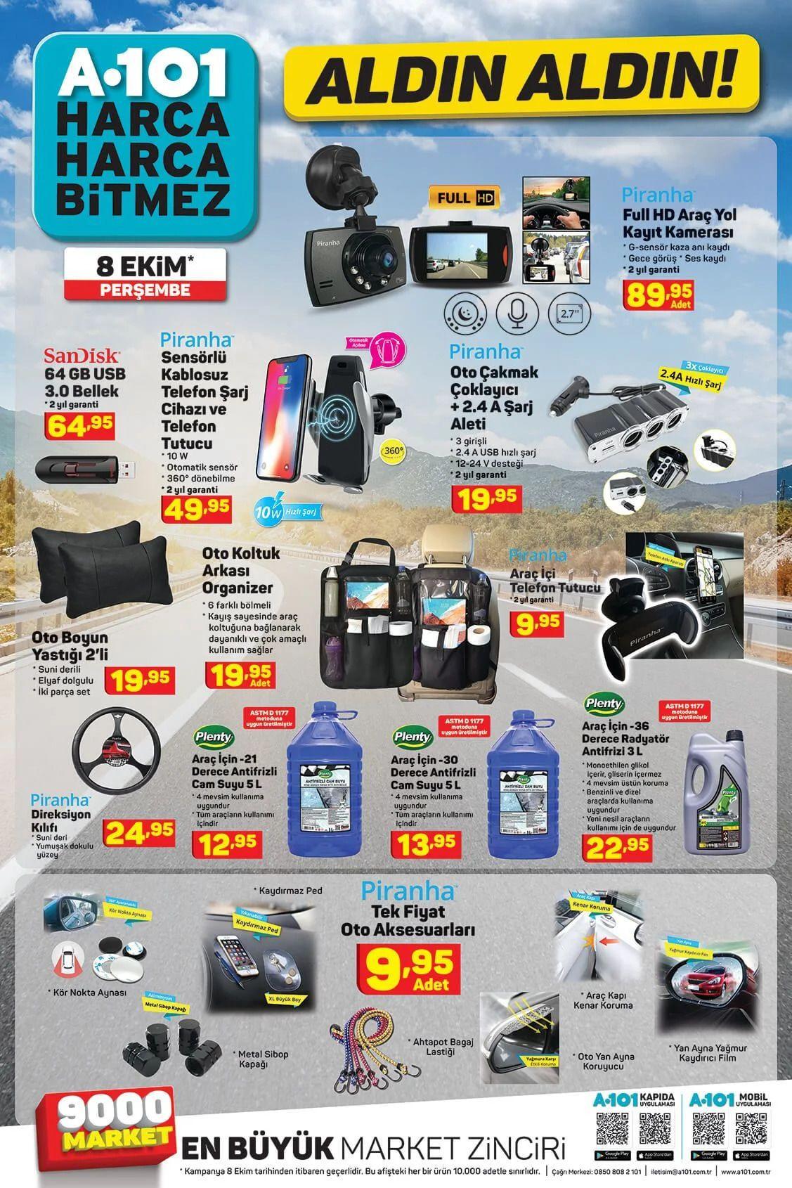 8 Ekim 2020 A101 aktüel ürünler! A101 katalog fiyat listesi - Sayfa 4