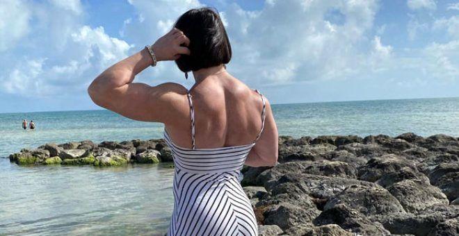 200 kilo kaldırabiliyor! Canavar lakaplı kadın sporcuyu görenler gözlerine inanamıyor - Sayfa 1