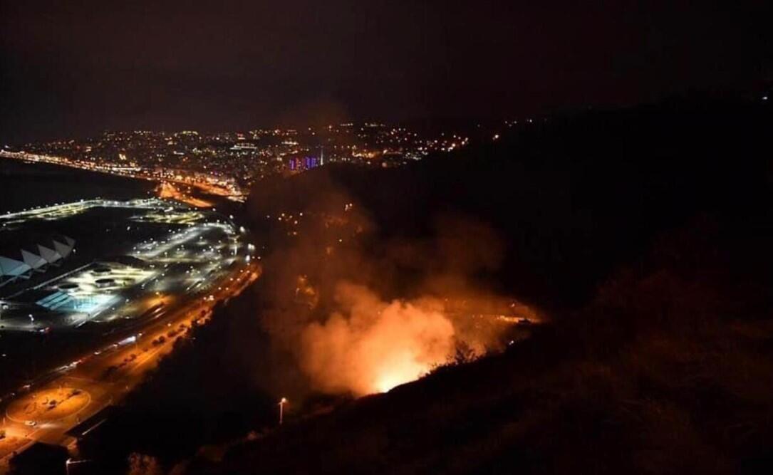 Trabzon'daki yangın söndürüldü - Sayfa 1