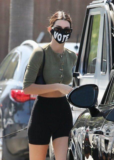 Kendall Jenner'dan maskeli mesaj - Sayfa 3