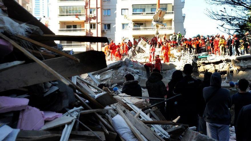 İzmir'de arama kurtarma çalışmaları tamamlandı - Sayfa 1