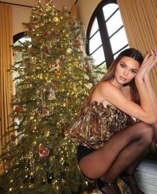 Kendall Jenner'dan Noel pozu - Sayfa 2