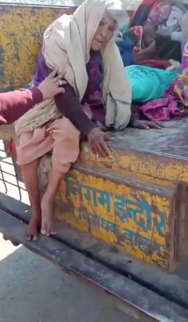 Evsiz ve yaşlı insanlar çöp kamyonuyla toplanıp şehir dışına atıldı - Sayfa 3