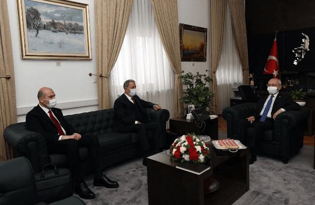 Akar ve Soylu, Kılıçdaroğlu'nu ziyaret etti - Sayfa 3