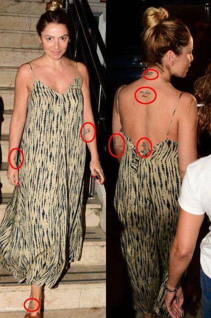 Hadise, kendisinin ve sevgilisinin adlarının baş harflerini dövme mi yaptırdı? - Sayfa 3
